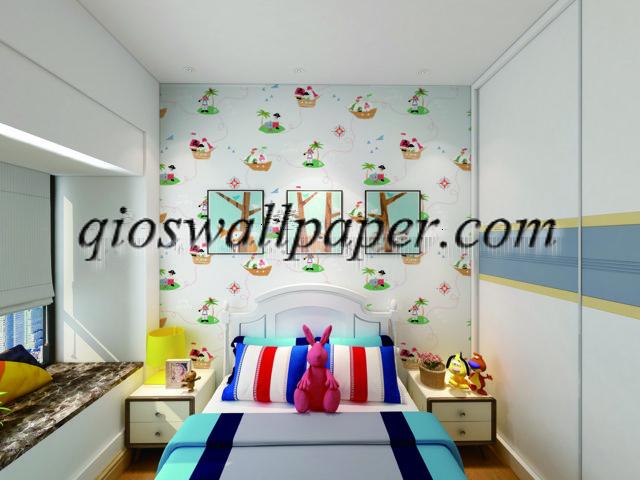 wallpaper ruang anak cowo