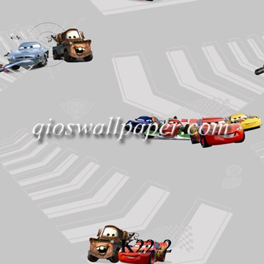 wallpaper ruang anak cars