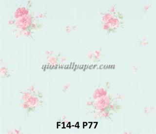 toko wallpaper dinding shabby chic roses