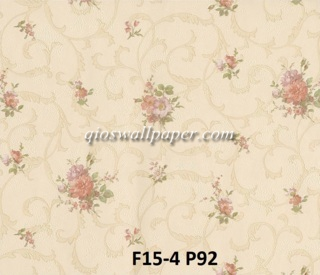 toko wallpaper dinding jakarta shabby chic roses