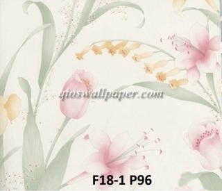 harga beli wallpaper dinding jakarta shabby chic roses