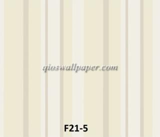harga wallpaper dinding garis krem hijau