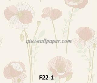 wallpaper dinding tulip