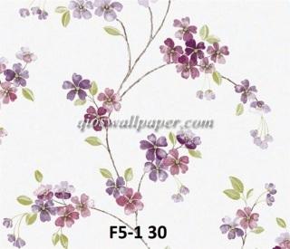 wallpaper bunga shabby ungu