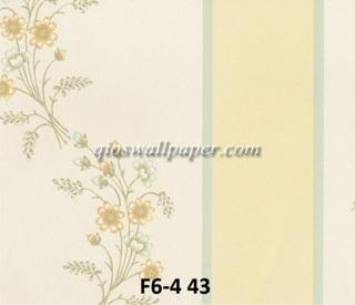 wallpaper dinding motif shabby chic garis gold
