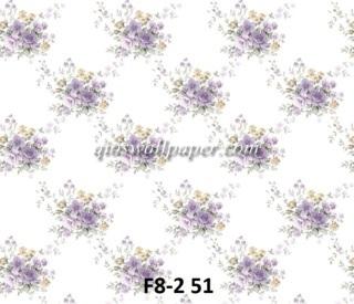 harga wallpaper dinding shabby ungu murah