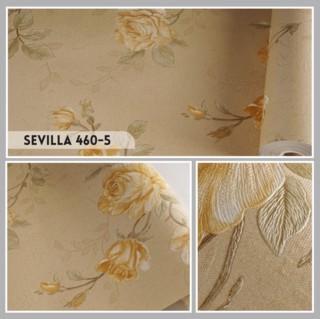 motif wallpaper dinding ruang tamu terbaru,