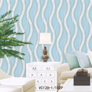 gambar wallpaper dinding ruang tv