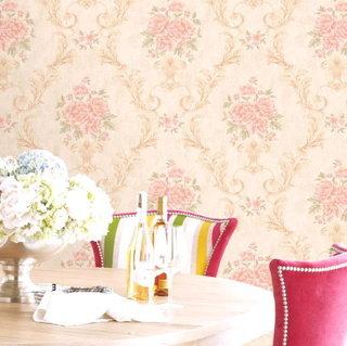 wallpaper dinding bunga murah terbaru