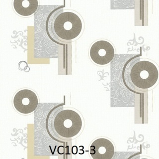 wallpaper dinding cream