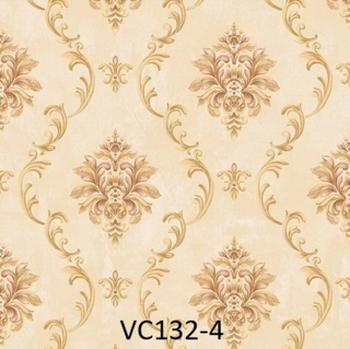 wallpaper dinding kamar batik gold