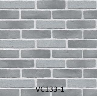 wallpaper dinding batu bata abu abu