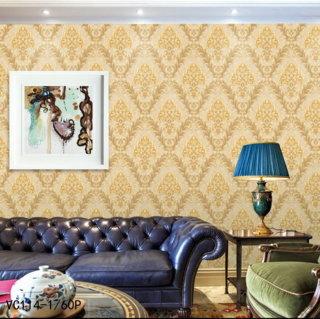 model gambar wallpaper dinding ruang tamu