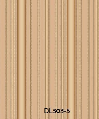 Wallpaper dinding salur warna coklat