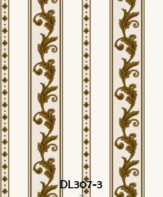 wallpaper dinding premium klasik gold