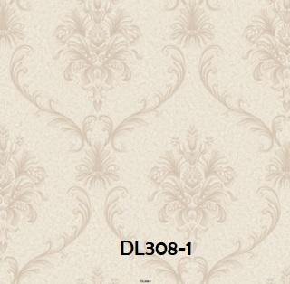 Wallpaper dinding batik warna abu abu