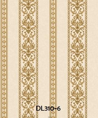 wallpaper dinding klasik elegant gold