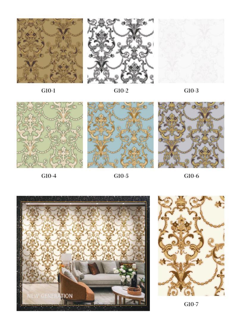 wallpaper ruang tamu batik murah