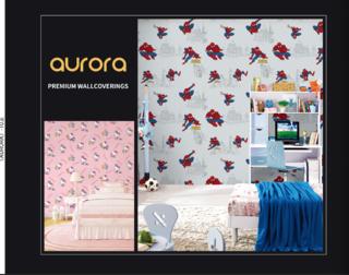 jual wallpaper kamar anak motif spiderman