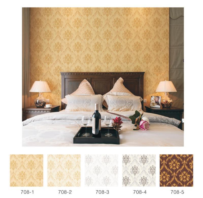 wallpaper dinding kamar tidur utama