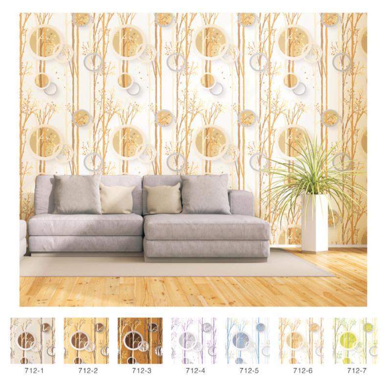 wallpaper dinding ruang tamu 3d minimalis