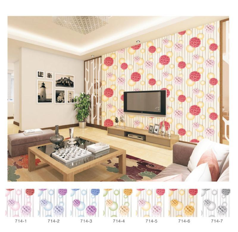wallpaper dinding 3d backdrop tv
