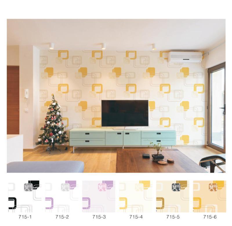 wallpaper dinding 3d ruang tv minimalis