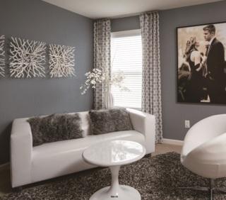 wallpaper dinding kamar tidur warna abu