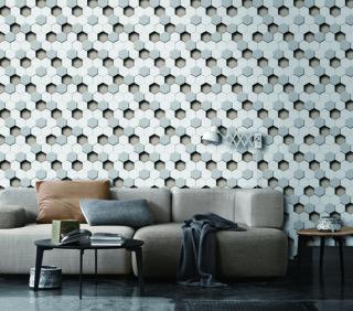 wallpaper 3d dinding murah