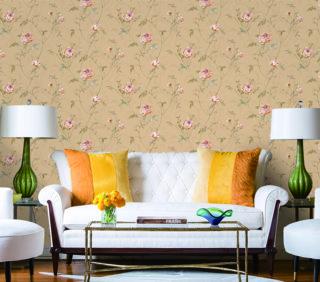 wallpaper buat ruang tamu