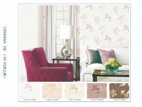 wallpaper dinding ruang tamu elegant