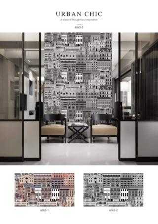 wallpaper ruang tamu murah
