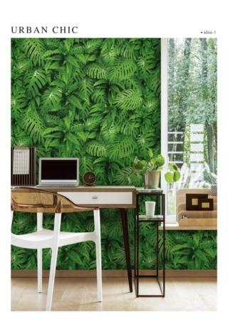 jual wallpaper dinding daun natural