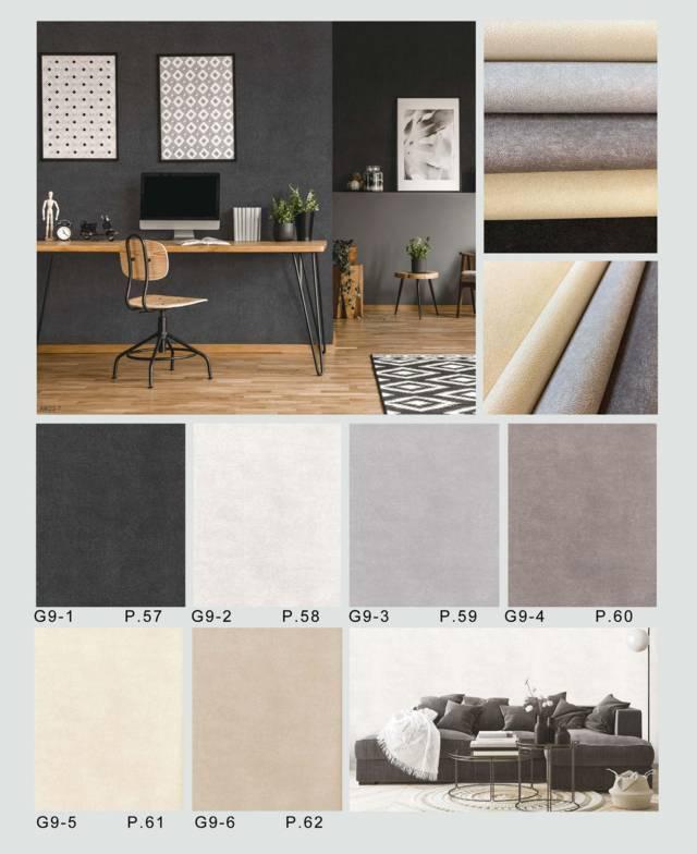 motif semen wallpaper dinding kantor