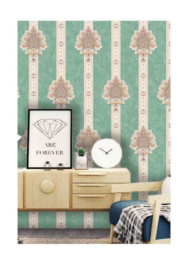 wallpaper dinding rumah minimalis ruang tamu,