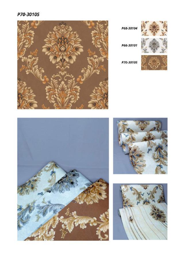 wallpaper dinding batik murah