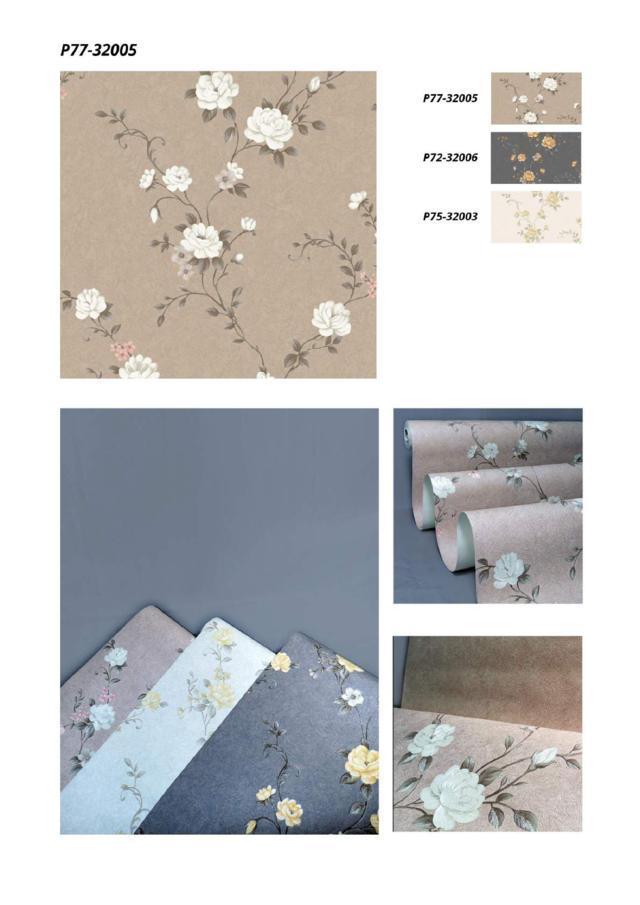 wallpaper motif bunga kamar terbaru