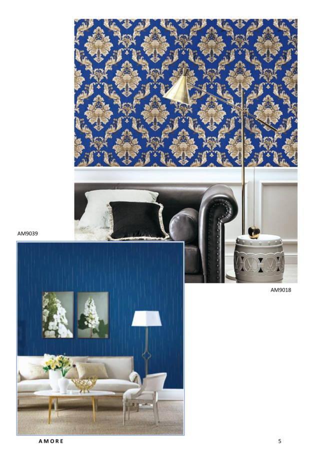 wallpaper dinding warna biru