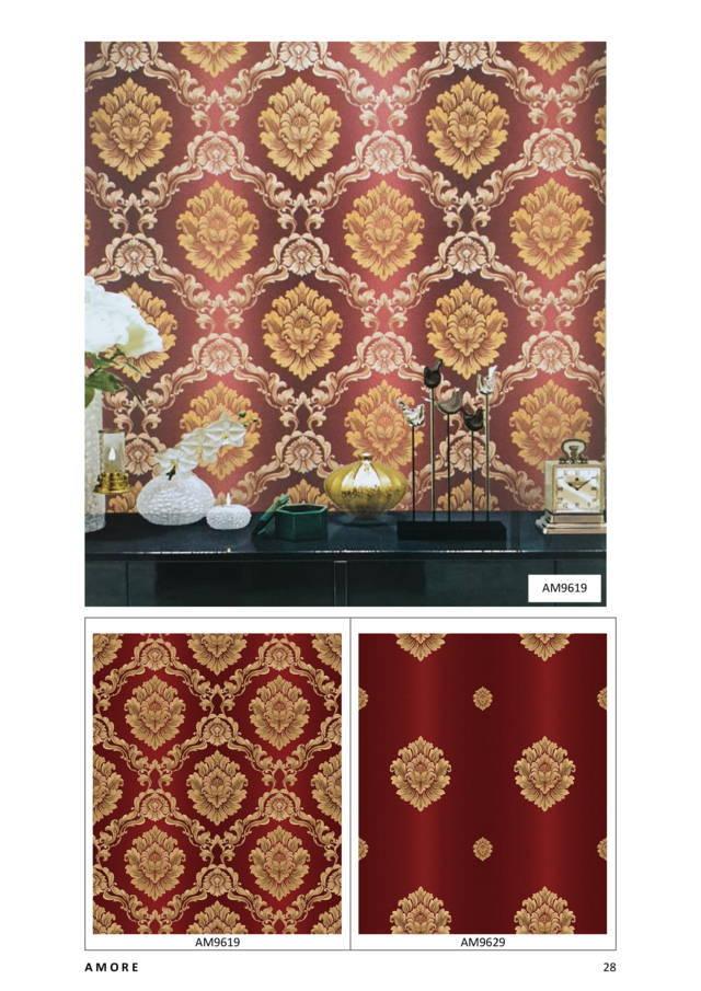 wallpaper dinding batik paling murah