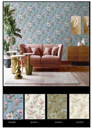 wallpaper dinding ruang tamu minimalis 3d