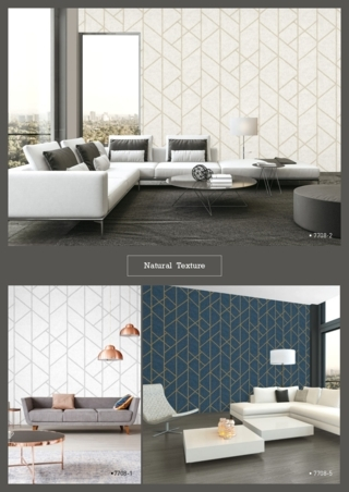 wallpaper tembok ruang tamu timbul