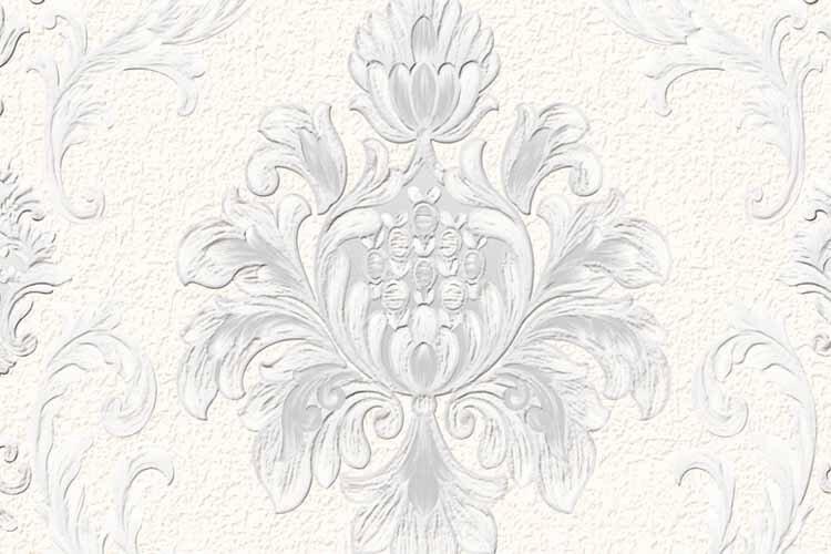 wallpaper dinding warna putih