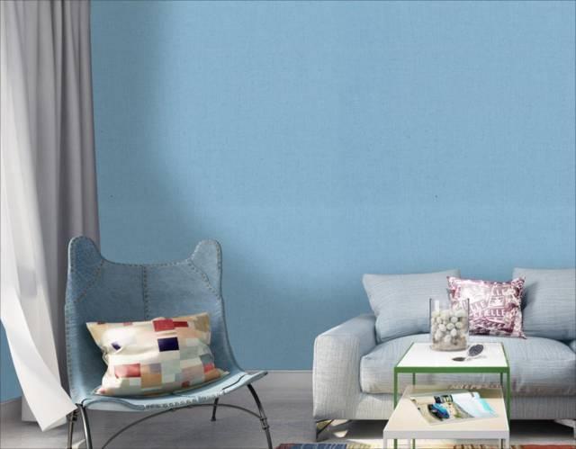 motif wallpaper ruang tamu