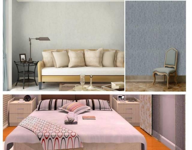 motif wallpaper untuk ruang tamu sempit