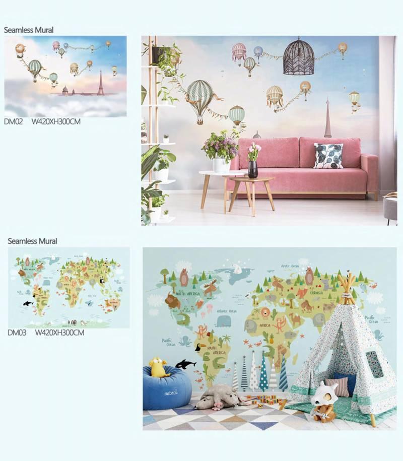 wallpaper dinding ruangan anak dream land