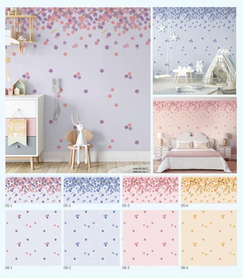 wallpaper dinding bunga dream land