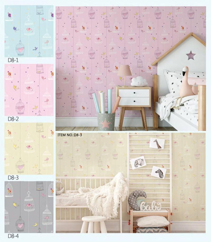 wallpaper dinding timbul motif anak dream land