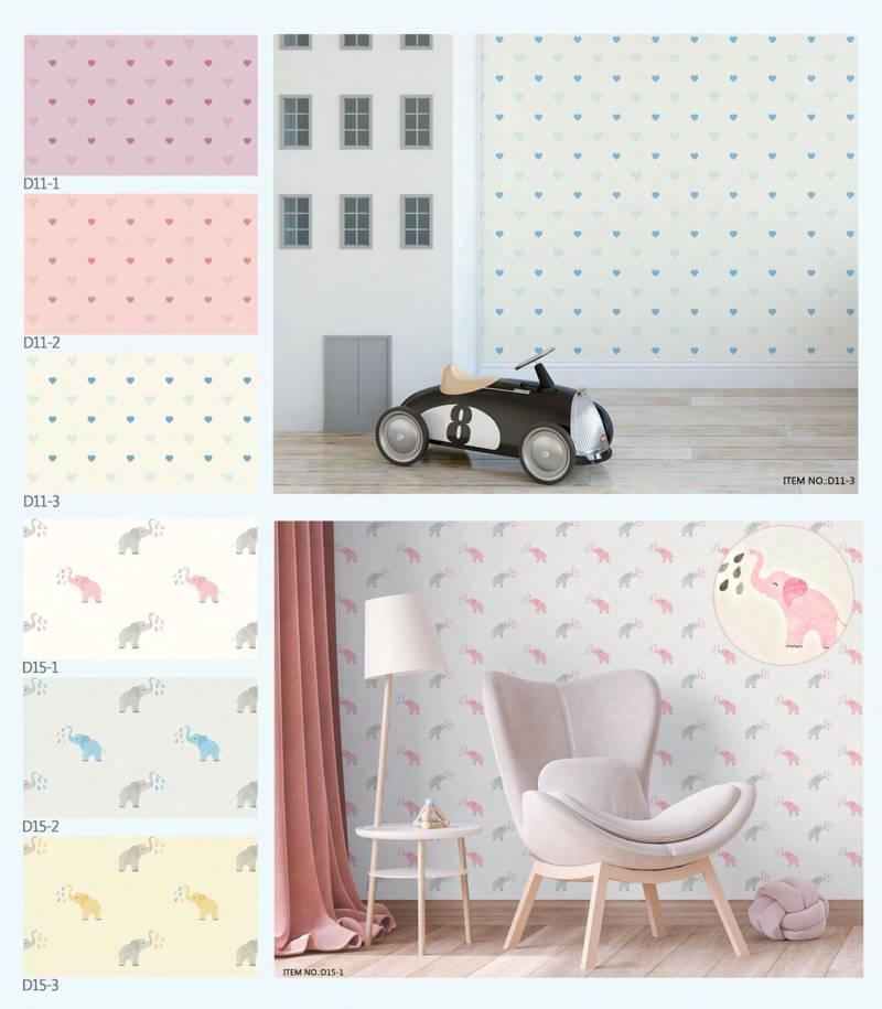 wallpaper dinding kamar anak dream land