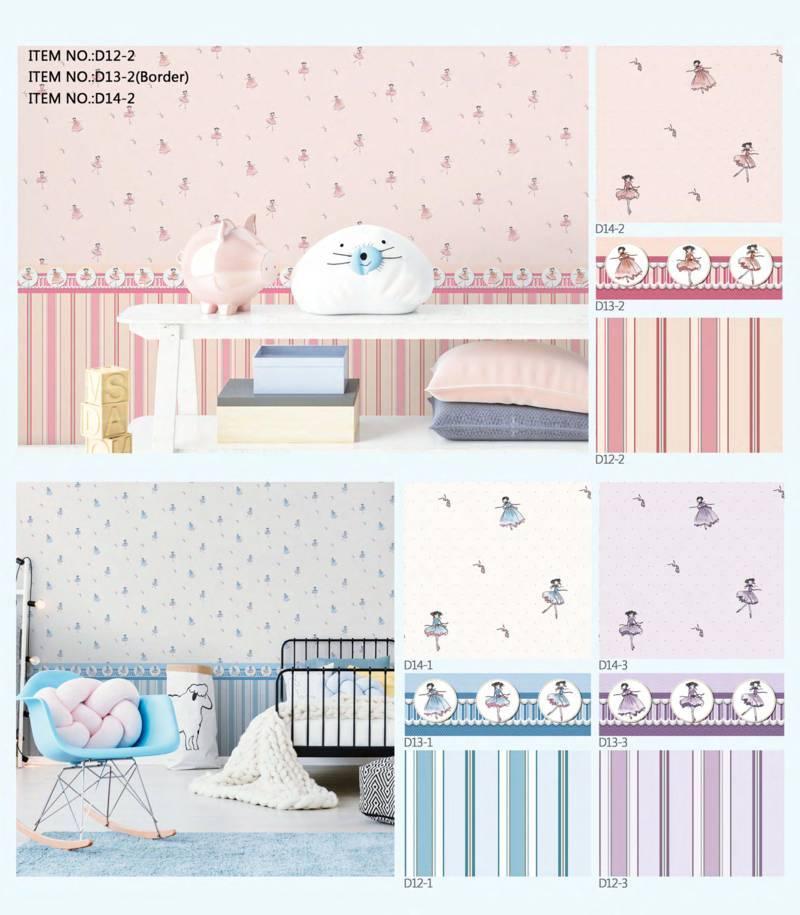 wallpaper dinding kamar anak cewe dream land