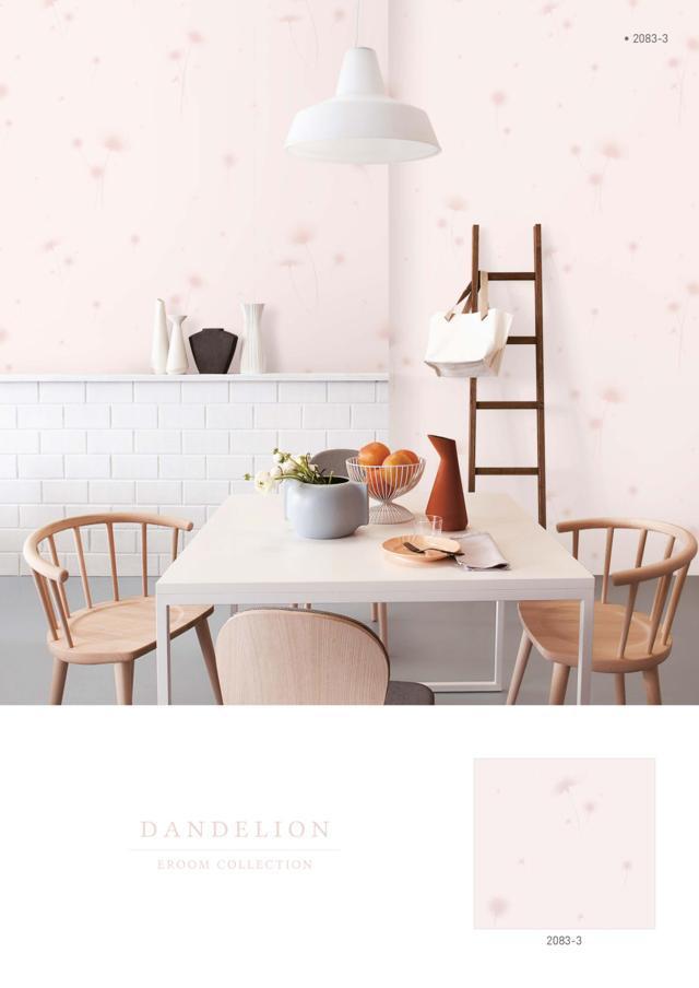 Wallpaper dinding polos warna pink harga murah